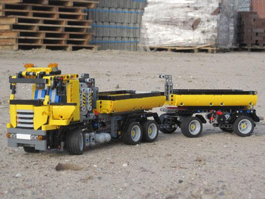 Technicbricks Week Techvideo 2011 10 8052 Container Trailer
