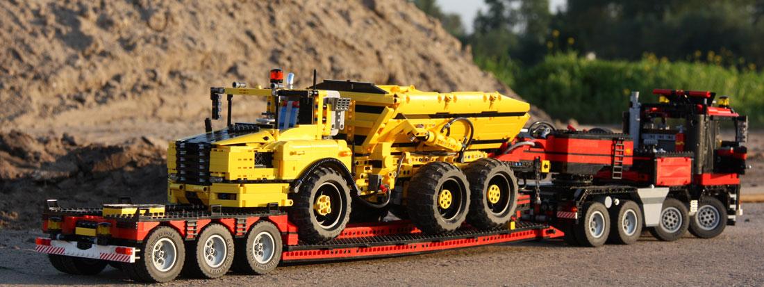 Han's Lego Technic Articulated Hauler 6x6 - LEGO Technic ...