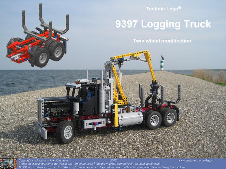 LEGO 9397 Logging Truck