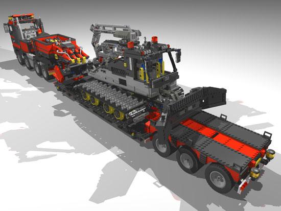 Truck 8x4 Lowloader